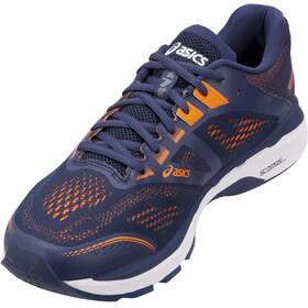 asics GT-2000 7 Shoes Men, indigo blue/shocking orange